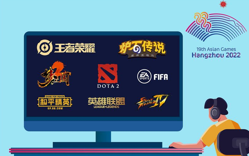 Hangzhou 2022 announces 8 e-sports events