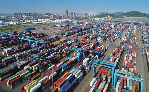 Jiaxing Port aims to make world's top 30 in container throughput