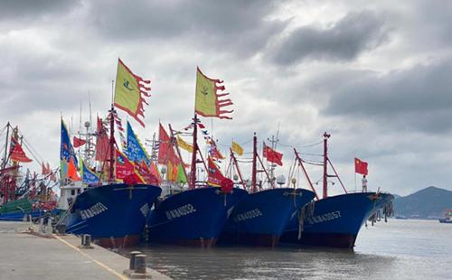 Grand ceremony marks start of fishing season in Xiangshan