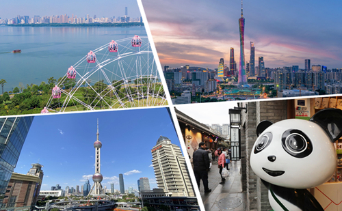 Top 10 most attractive cities for young Chinese entrepreneurs