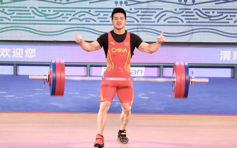 Olympic weightlifting champion Shi hopes for Paris 2024