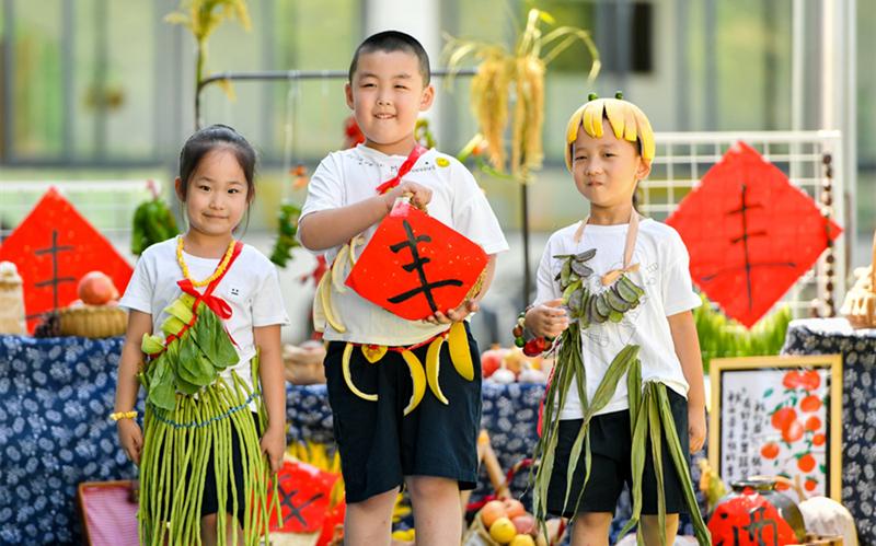 Celebrating a bountiful harvest across China