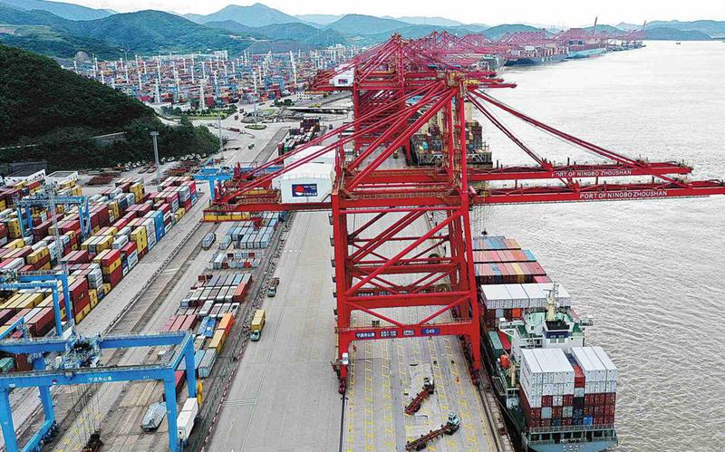 Zhejiang free trade zone keeps chugging on