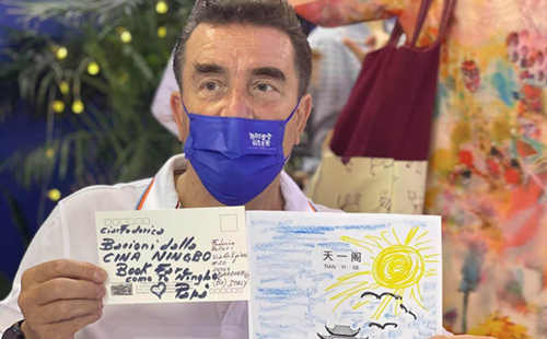 Expats express fondness for Ningbo in postcards