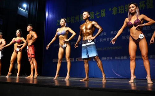Cancer survivor in E China fitness contest an inspiration