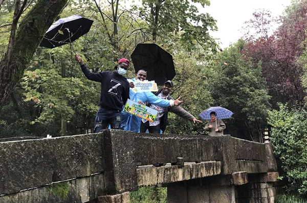 Expats get a glimpse of Hangzhou's efforts in biodiversity conservation