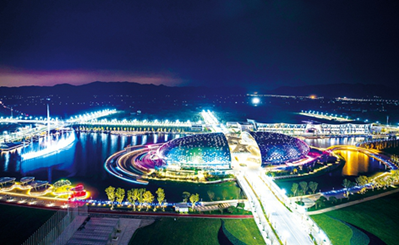 Deqing geographic information town