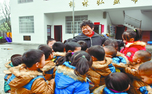 Retired teacher helps build 30 schools in impoverished areas