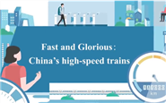Fast and glorious: China's high-speed trains