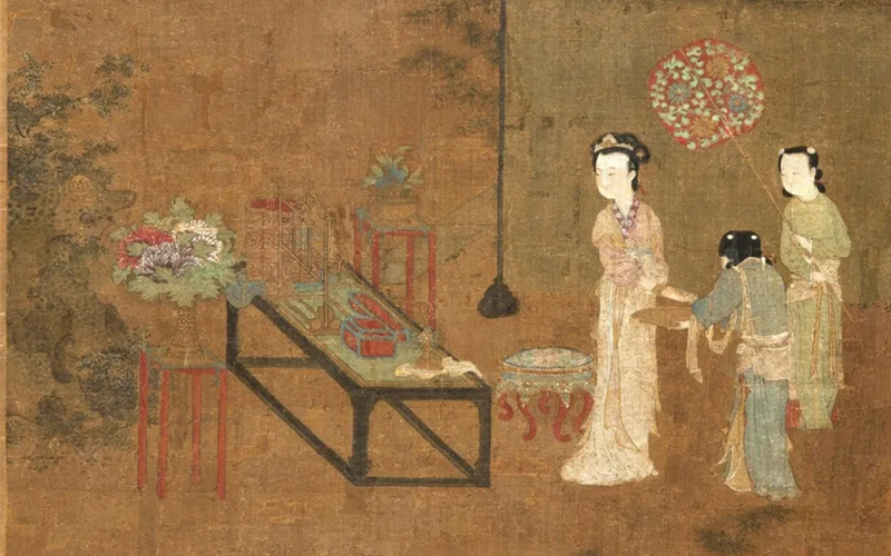 Online exhibition gathers painterly images of ancient Chinese women