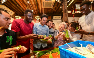 Expats enjoy Dragon Boat Festival in Jinhua