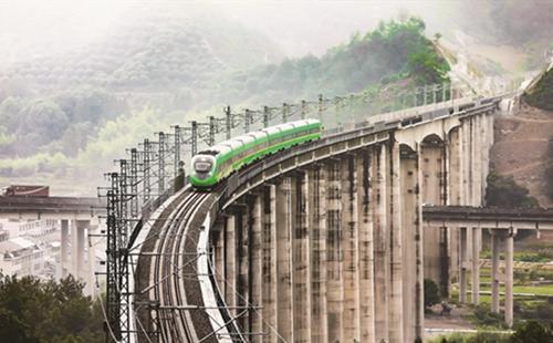 Jinhua-Taizhou railway line opens to traffic
