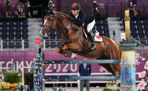 Zhejiang's first Olympics equestrian athlete