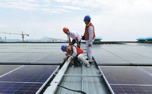 Rooftop solar helping nation meet green goals