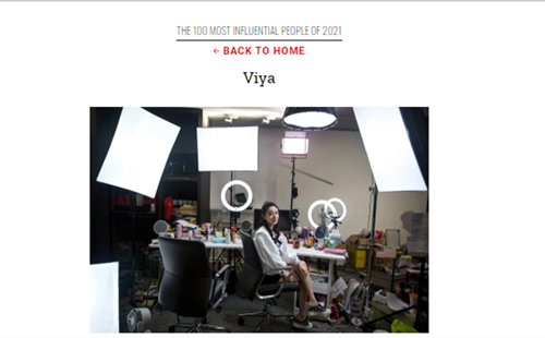 Asian Games ambassador named Time Magazine's 100 Most Influential People of 2021