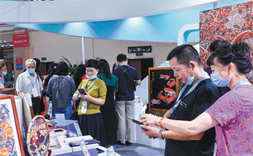 Intangible cultural heritage promotes 'Poetry and Painting Zhejiang'