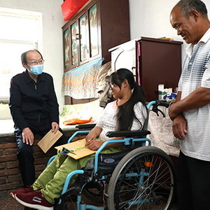 Jiaxing improves well-being of disabled