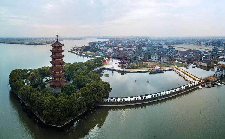 Wangjiangjing town in pictures