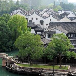 Idyllic scenery of Wuzhen 'water town'