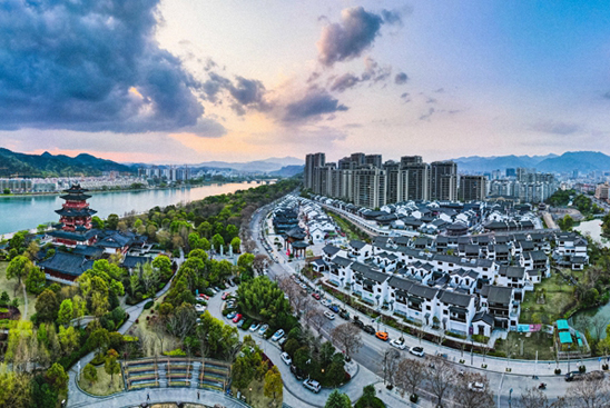 Lishui sets example for 'red and green integration'