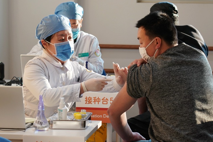 Visa rules eased for recipients of Chinese vaccines