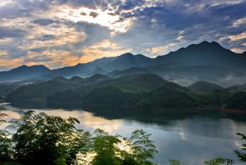 In pics: Dongbai Lake