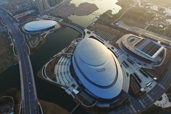 In pics: Shaoxing Jinghu Olympic Sports Center