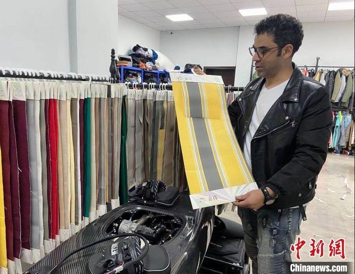 Lebanese man's entrepreneurial dream comes true in China's textile hub