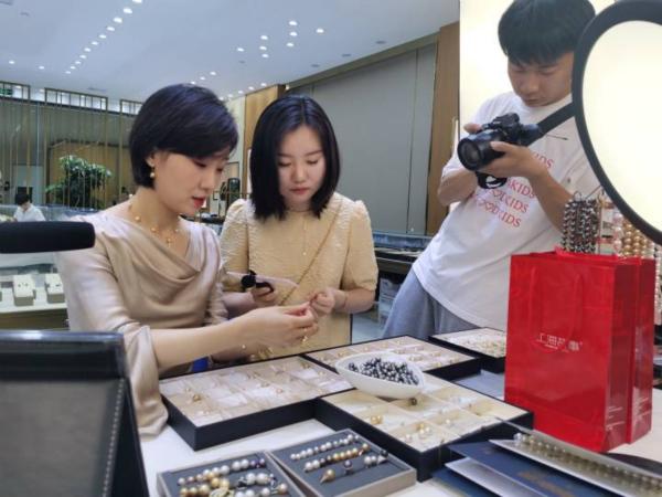 Digital technology spurs Shaoxing's pearl industry development