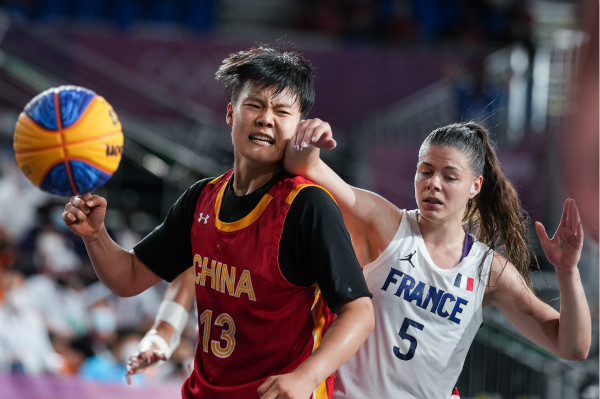 Shaoxing athlete helps China win 3x3 basketball Olympic medal