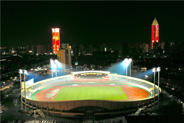 Stadium of Wenzhou Sports Center passes acceptance check