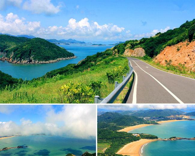 Zhujiajian island的daqingshan park.jpg