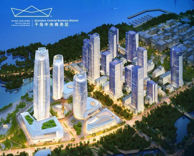 CCCC Ocean Investment Holding Company inspects cruise home port project in Zhoushan.jpg