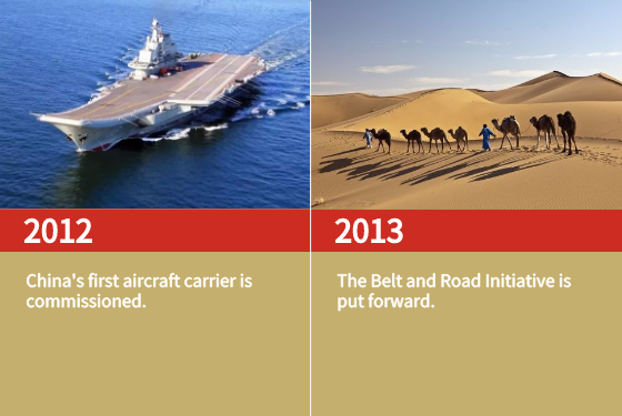 China's first aircraft carrier is commissioned.