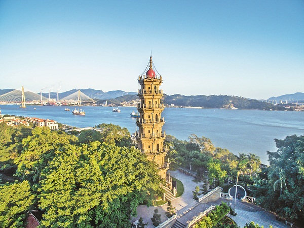 Luoxing Tower named a Maritime Silk Road historical relic