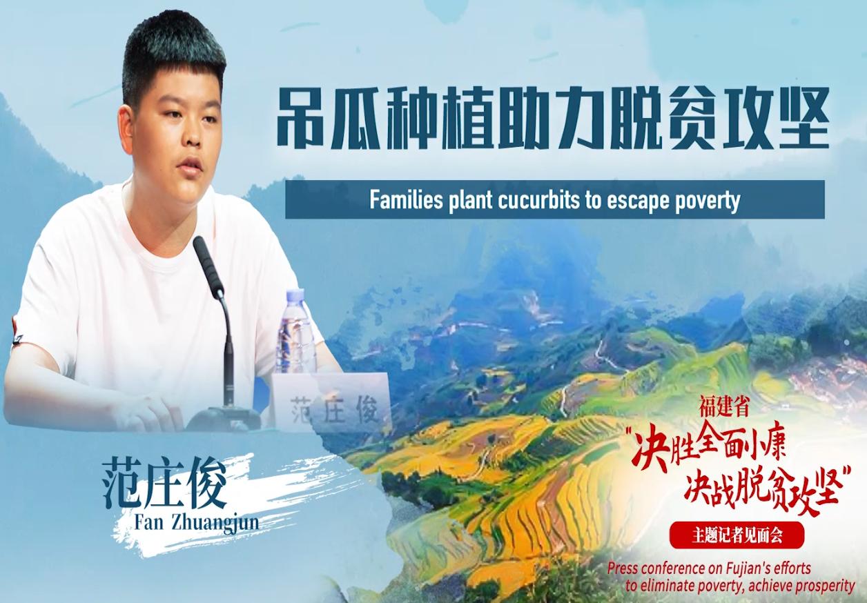 Families plant cucurbits to escape poverty