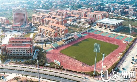Quanzhou middle school completes upgrade for 2020 Gymnasiade
