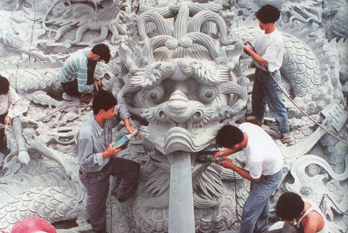 Huian stone carving