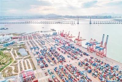 Quanzhou Port sees increasing foreign trade cargo throughput