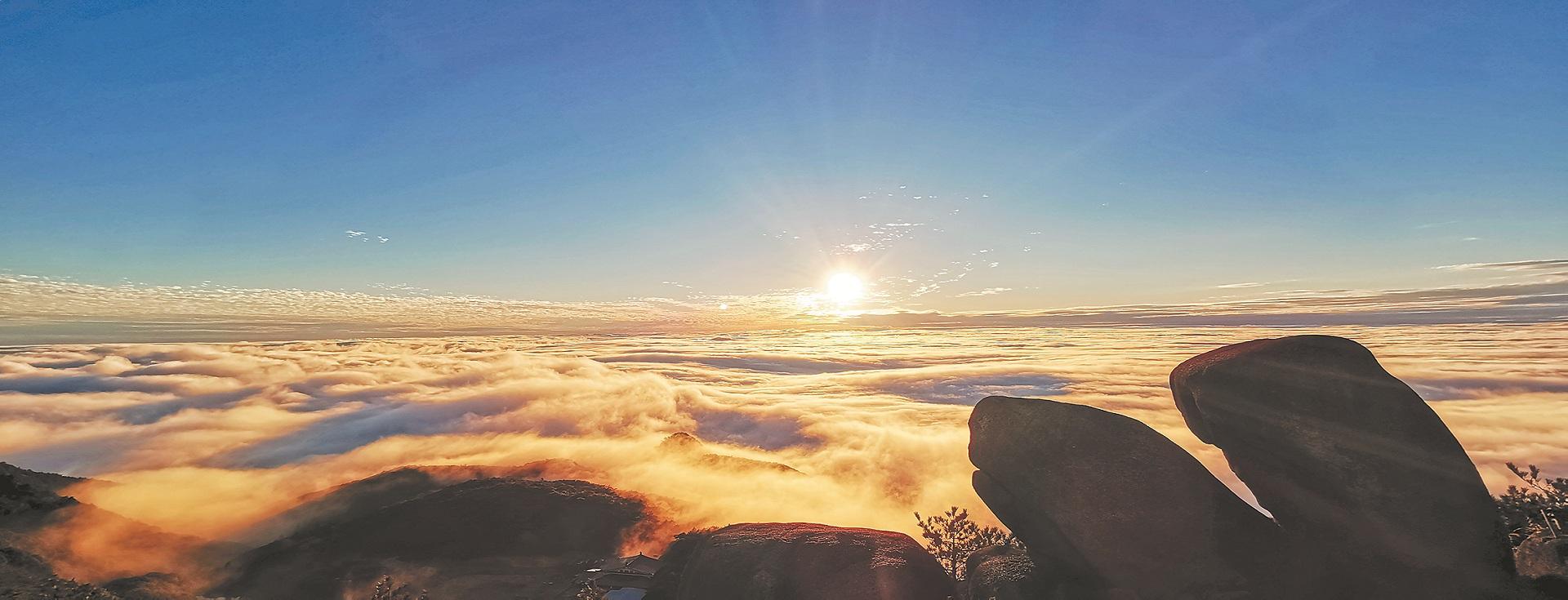 Quanzhou's stunning mountain areas