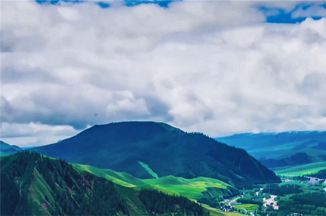Promotional video: natural landscape of Gansu