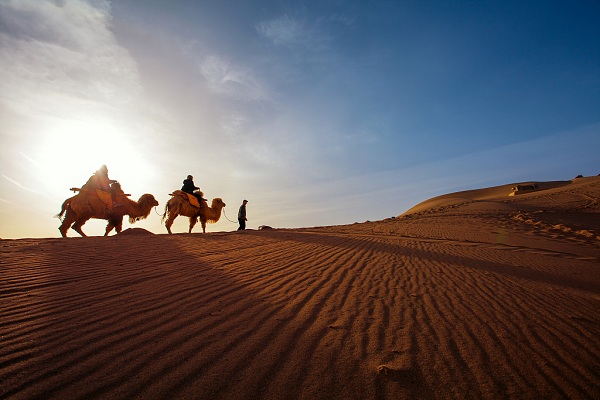Ramble along the ancient Silk Road in Gansu province
