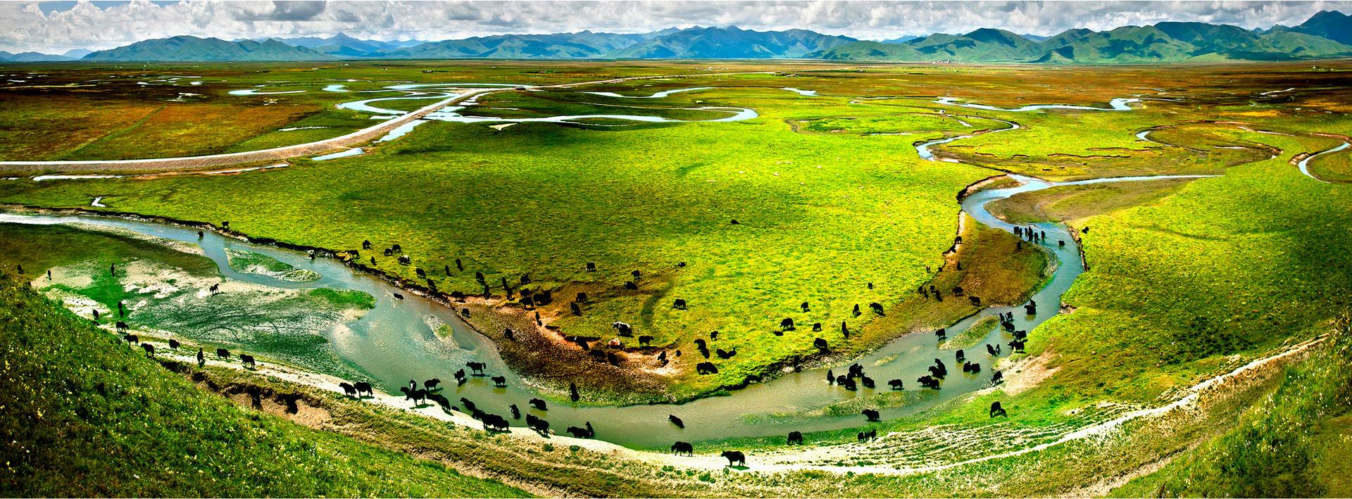 Gansu and Silk Road