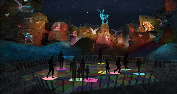 Night tour in Gansu merges light, sound