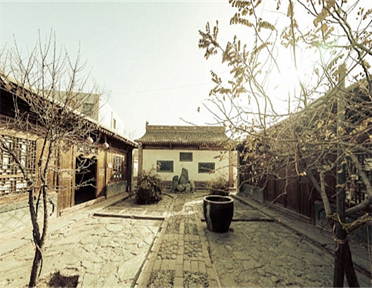 The ancient town of Qingcheng