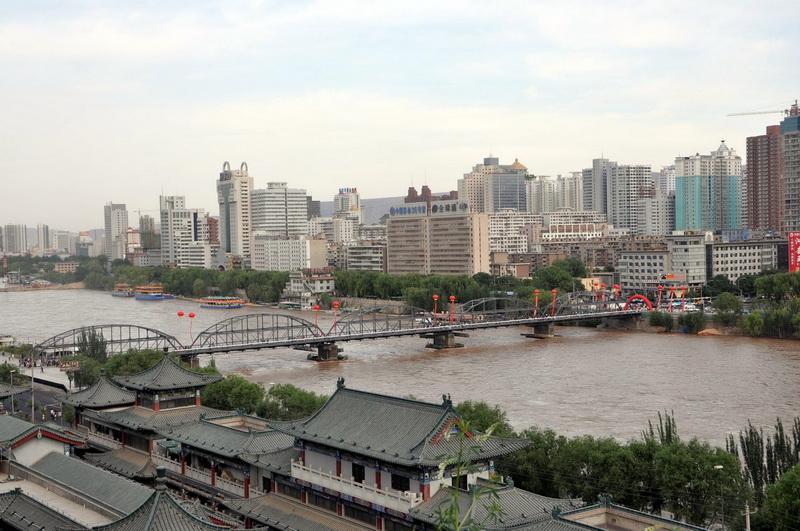 Zhongshan Bridge (Yellow River Iron Bridge).jpg