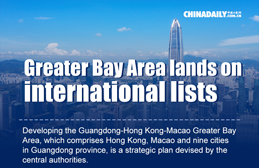 Infographic: Greater Bay Area lands on international lists