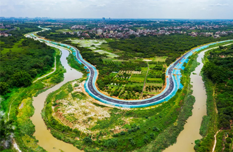 Greenway links Maoming's beautiful scenic spots