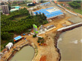Construction on Xuwen Port in full swing