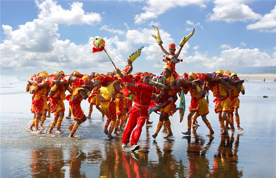 Human Dragon Dance